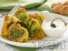 Рецепта Панирани броколи